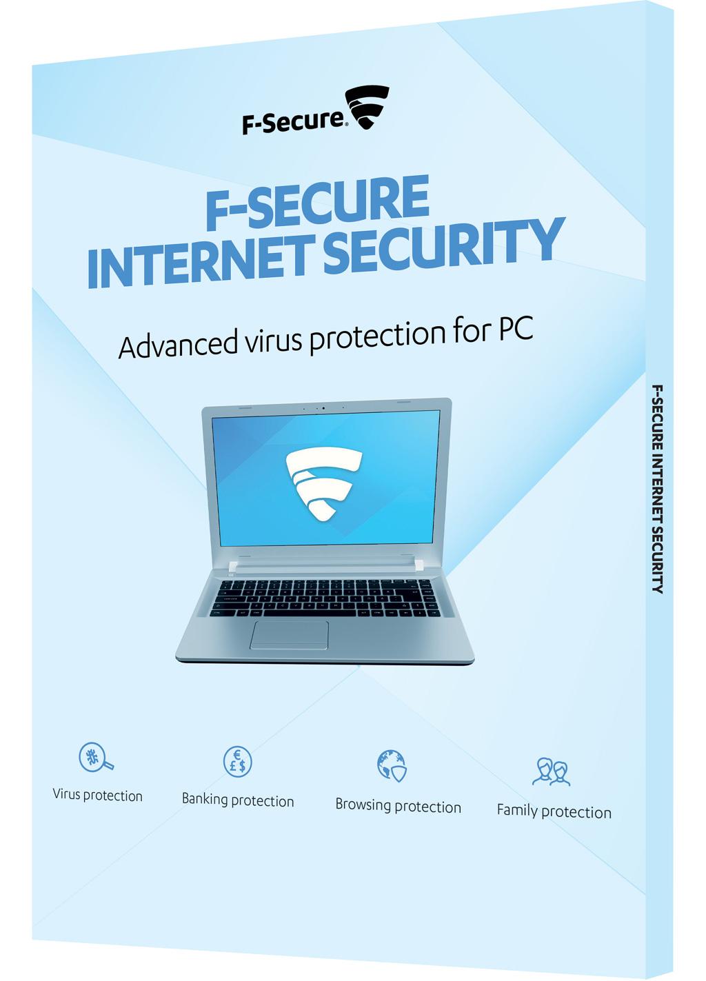f-secure internet security 2018 – 3 pc / 1 year - topantivirus