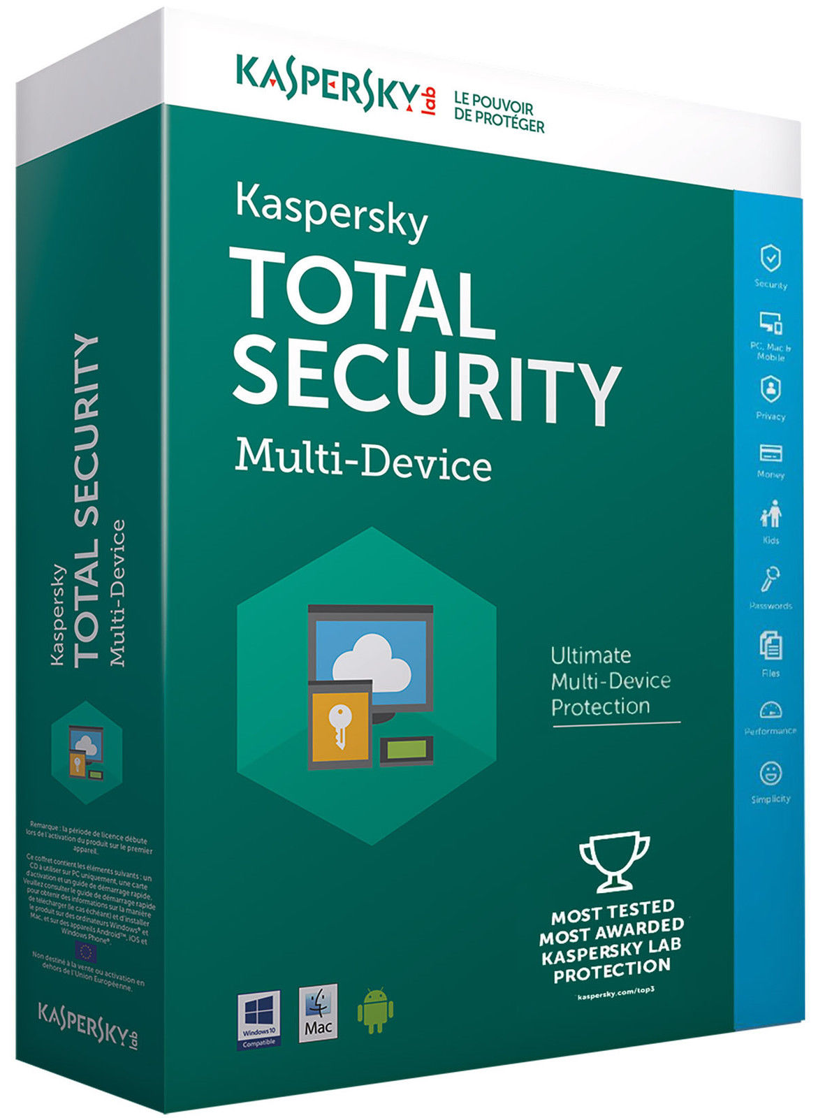 Kaspersky Total Security 2019 Multi Device – 5 Device, 1